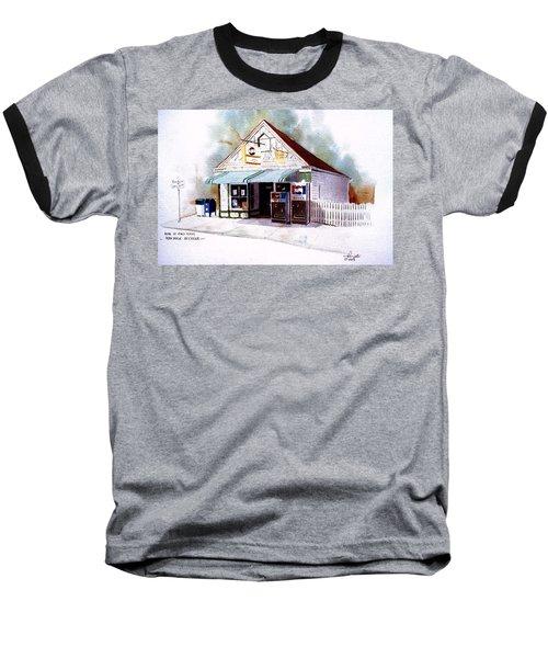 King's Ice Cream Baseball T-Shirt by William Renzulli
