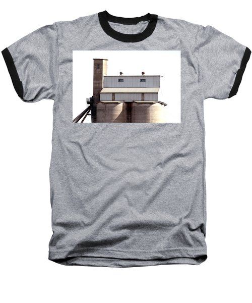 Baseball T-Shirt featuring the photograph Kingscote Skyrise by Stephen Mitchell