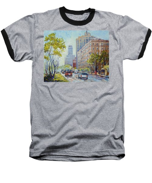 Kingshighway Blvd - Saint Louis Baseball T-Shirt by Irek Szelag