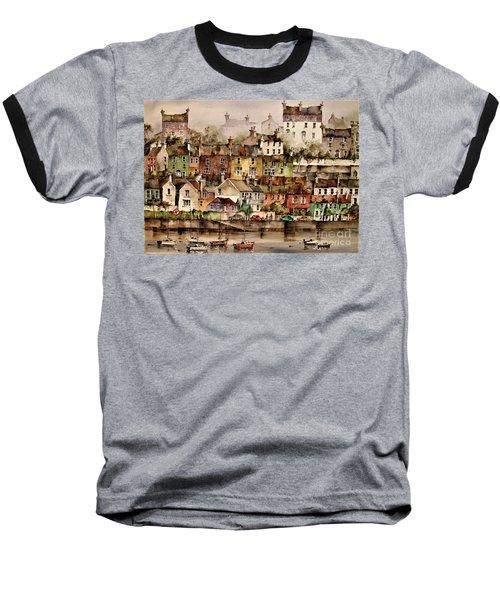 F 906  Kinsale Harbour. Cork Baseball T-Shirt