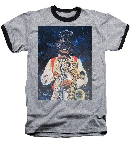 Blue Cat Productions.  Rahsaan  Roland Kirk  Baseball T-Shirt