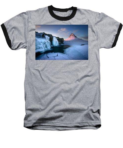 Kirkjufell, Iceland Baseball T-Shirt