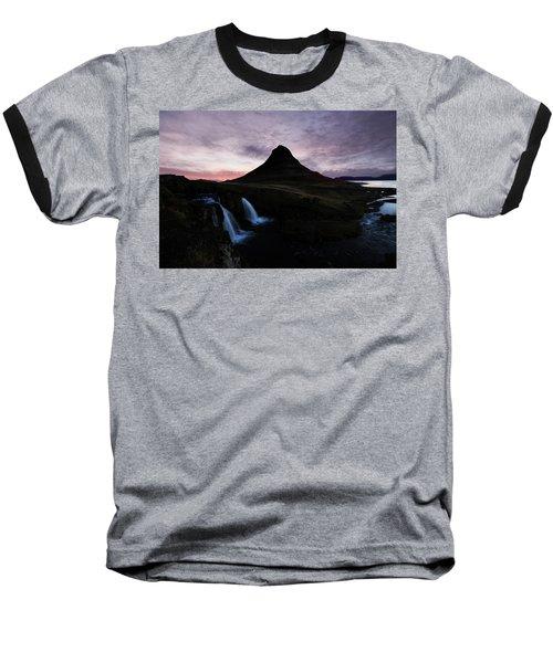 Kirkjufell Mountain Baseball T-Shirt