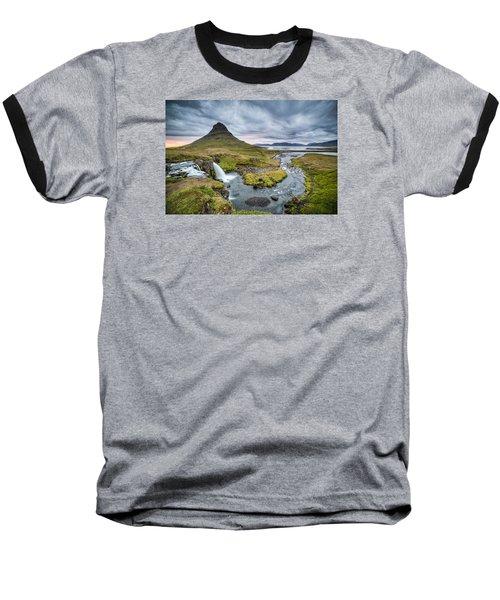 Kirkjufellsfoss 1 Baseball T-Shirt