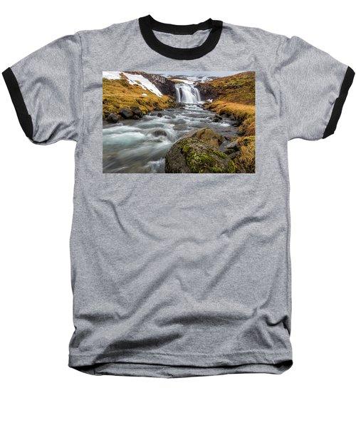 Kirkjufellsfoss Sibling  Baseball T-Shirt