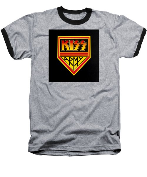 Kiss Army Baseball T-Shirt