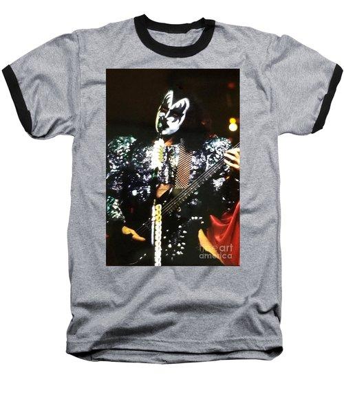 Kiss Gene Baseball T-Shirt