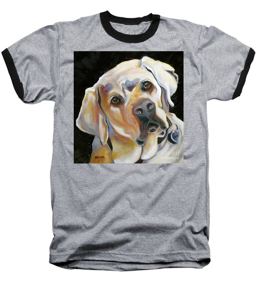 Kissably Close Lab Baseball T-Shirt