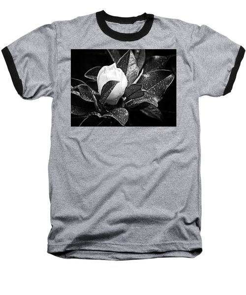 Baseball T-Shirt featuring the photograph Kissed By Rain by Carolyn Marshall