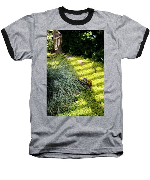 Baseball T-Shirt featuring the photograph Kissing Cousins by Marie Neder