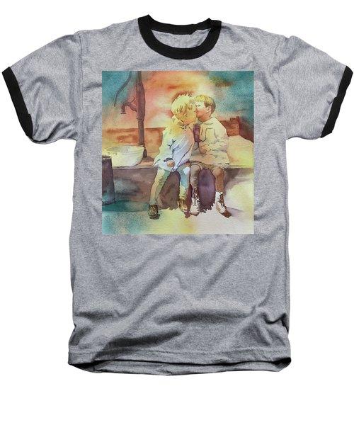 Kissing Cousins Baseball T-Shirt