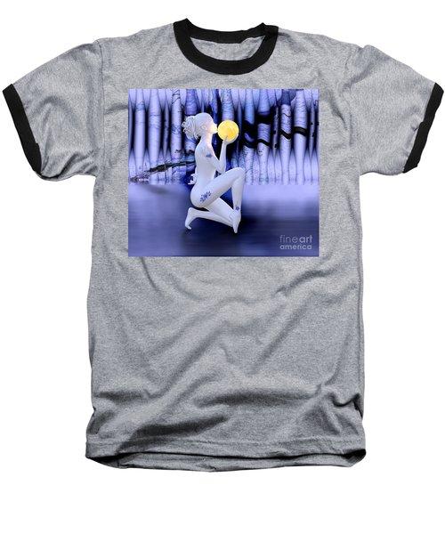 Kissing The Moon Baseball T-Shirt