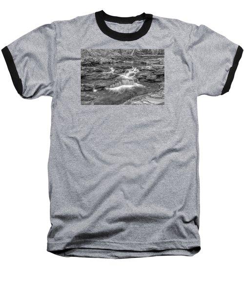 Baseball T-Shirt featuring the photograph Kitchen Creek Bw - 8902-3 by G L Sarti