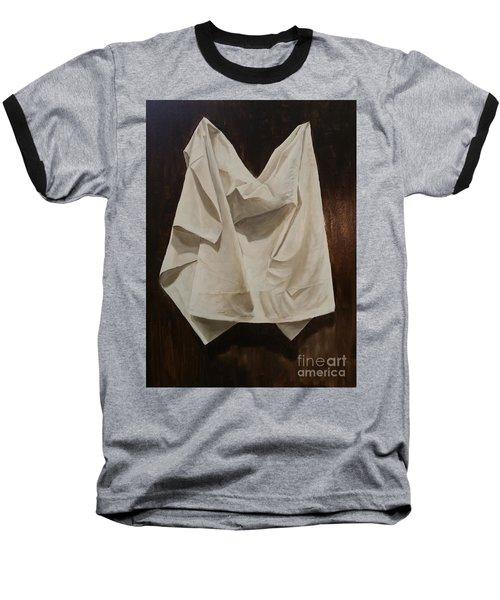 Painting Alla Rembrandt - Minimalist Still Life Study Baseball T-Shirt