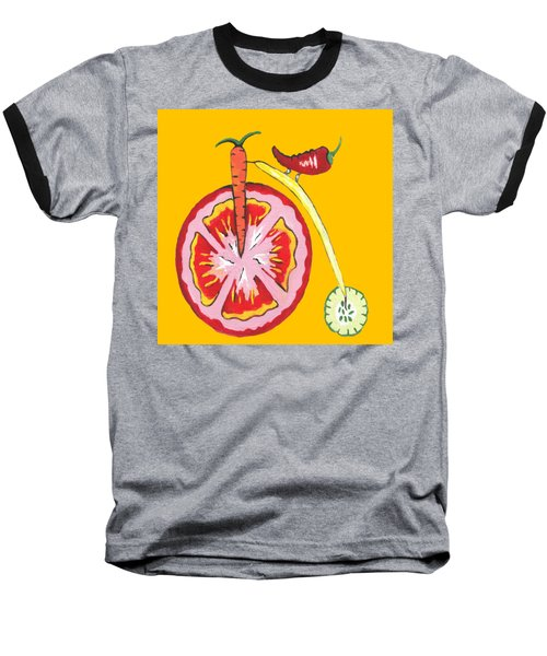 Kitchen Vegetable Art Baseball T-Shirt