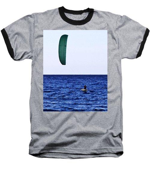 Kite Board Baseball T-Shirt