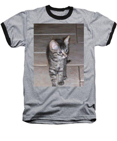 Martius Kitten Baseball T-Shirt