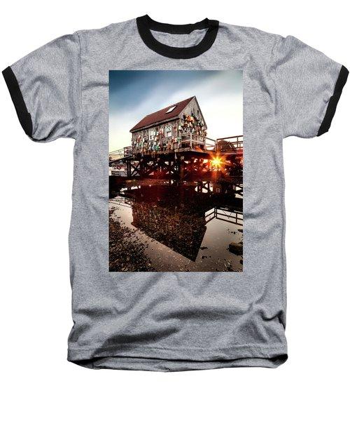 Kittery Lobster Shack Baseball T-Shirt