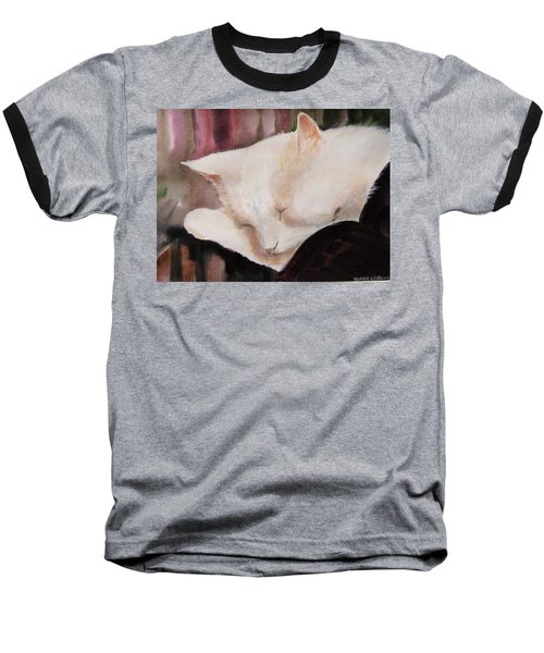 Kitty Baseball T-Shirt
