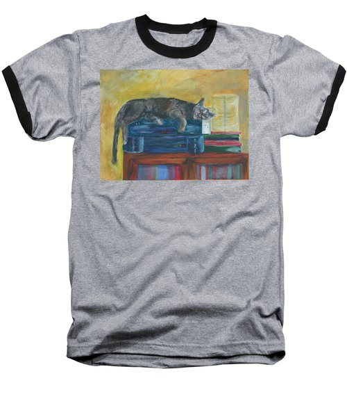 Kitty Comfort Baseball T-Shirt