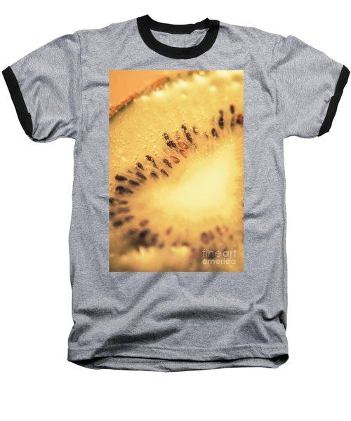Kiwi Margarita Details Baseball T-Shirt by Jorgo Photography - Wall Art Gallery