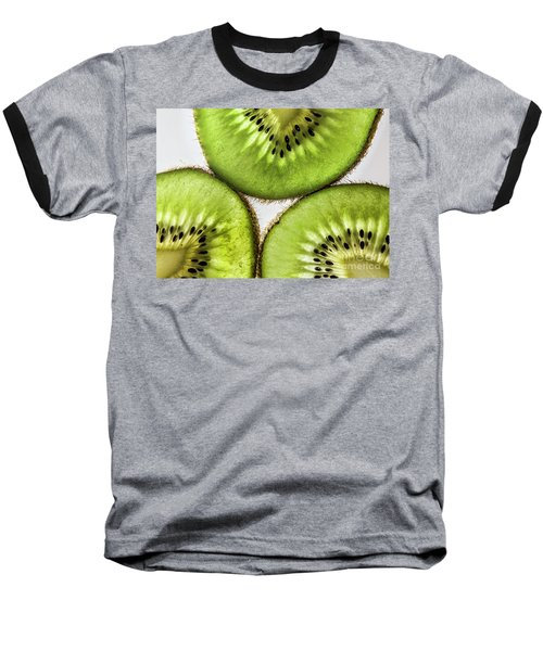 Kiwi Baseball T-Shirt by Shirley Mangini