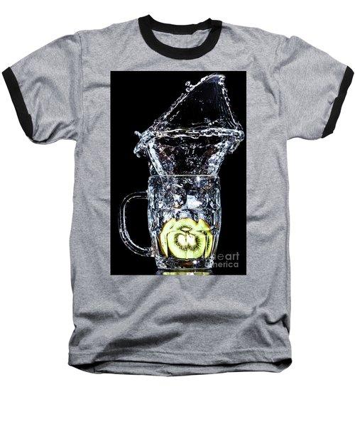 Baseball T-Shirt featuring the photograph Kiwi Spash by Ray Shiu