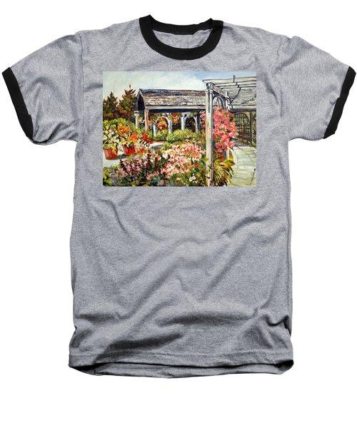Klehm Arboretum I Baseball T-Shirt by Alexandra Maria Ethlyn Cheshire