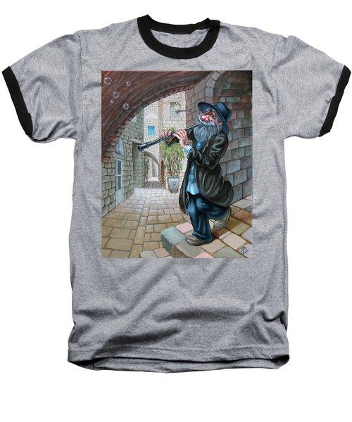 Klezmer Baseball T-Shirt