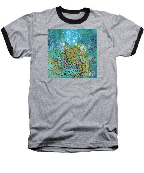 Klimt's Garden Baseball T-Shirt by Stacey Zimmerman