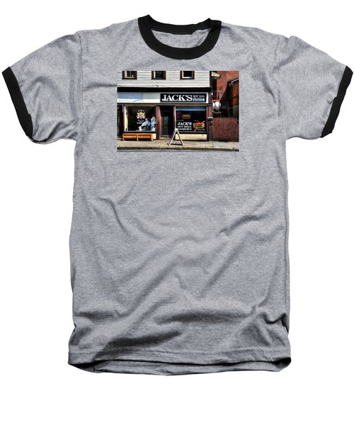 Klipper Kingz - Barber Shop Baseball T-Shirt
