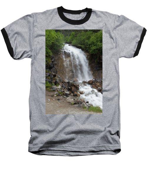 Klondike Waterfall Baseball T-Shirt