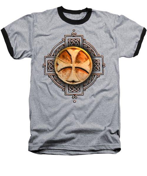 Knights Templar Symbol Re-imagined By Pierre Blanchard Baseball T-Shirt