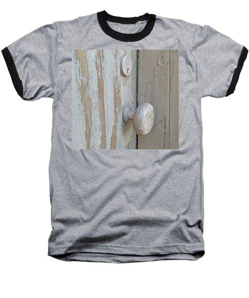 Knob Nostalgia Baseball T-Shirt by Suzy Piatt