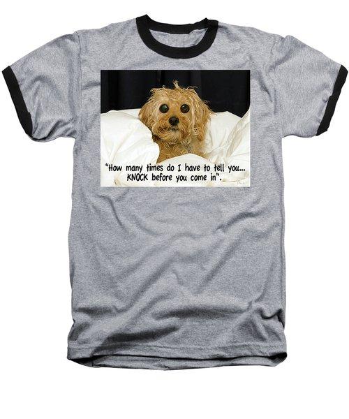 Knock Baseball T-Shirt