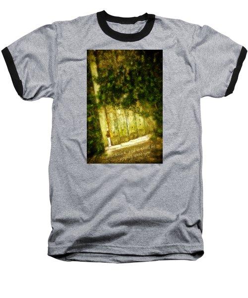 A Little Light Baseball T-Shirt by Denis Lemay