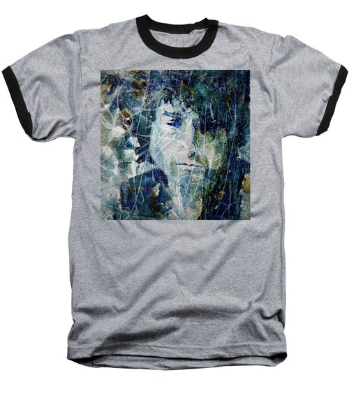 Knocking On Heaven's Door Baseball T-Shirt by Paul Lovering