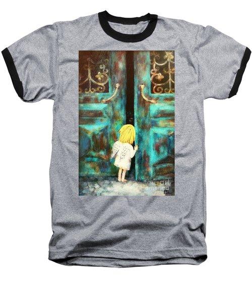 Knocking On Heaven's Door Baseball T-Shirt