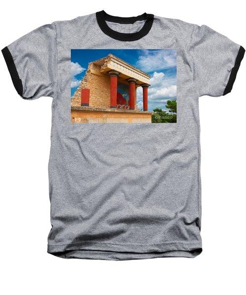 Knossos Palace At Crete, Greece Baseball T-Shirt