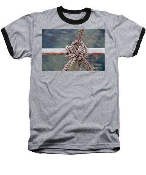 Baseball T-Shirt featuring the photograph Knot Of My Warf by Stephen Mitchell
