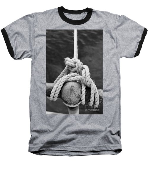 Baseball T-Shirt featuring the photograph Knot On My Warf Iv by Stephen Mitchell