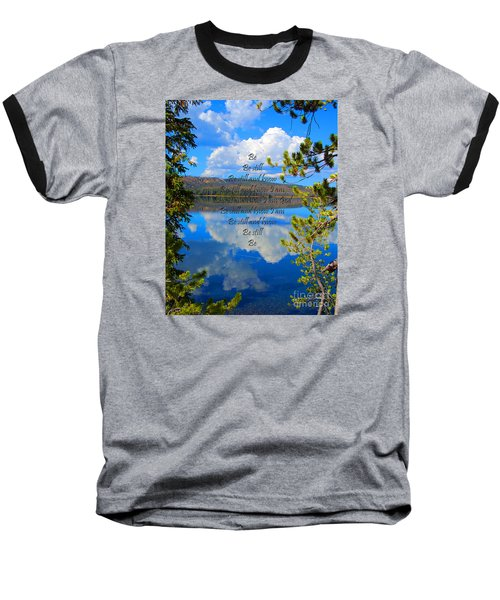 Baseball T-Shirt featuring the photograph Know I Am by Diane E Berry