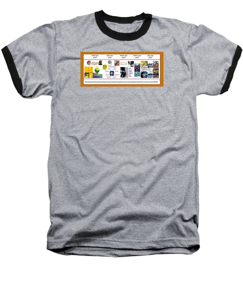 Know Thyself Baseball T-Shirt by Peter Hedding