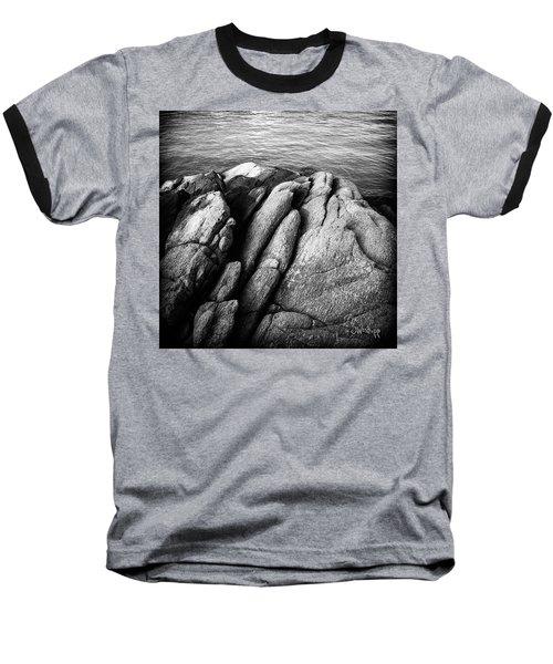 Ko Samet Rocks In Black Baseball T-Shirt