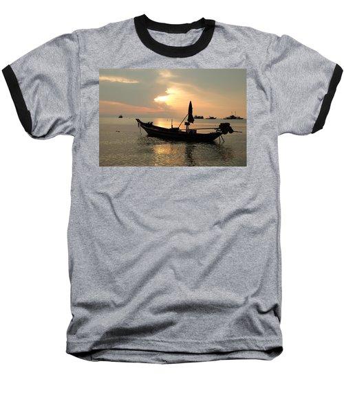 Ko Tao In Evening Baseball T-Shirt