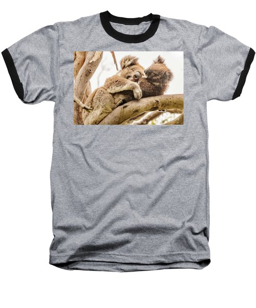 Koala 5 Baseball T-Shirt by Werner Padarin