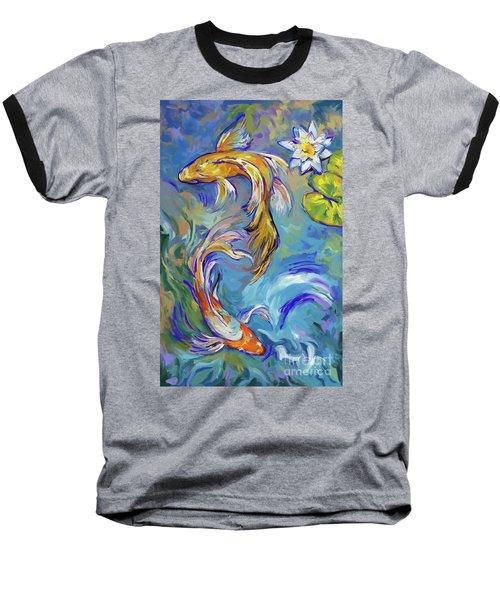 Koi Fish2 Baseball T-Shirt