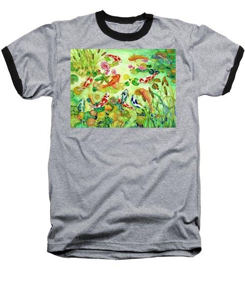 Koi Pond II Baseball T-Shirt