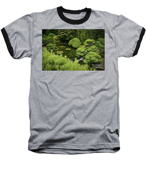 Koi Pond Baseball T-Shirt