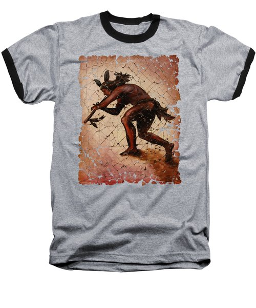 Kokopelli Flute Player Baseball T-Shirt